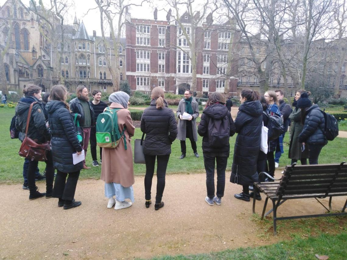 Teaching in Gordon Square